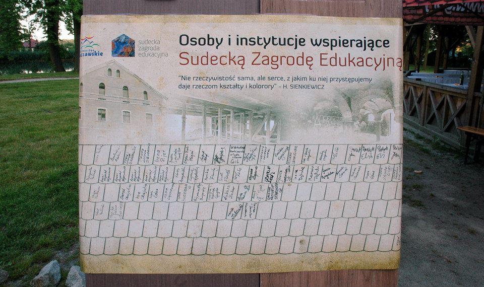 Kup dachówkę! Zbieramy na remont dachu budynku stodoły w Zagrodzie. Dziękujemy agencji reklamowej PROXART za przygotowanie i wydrukowanie plakatu oraz wszystkim podpisanym darczyńcom!.